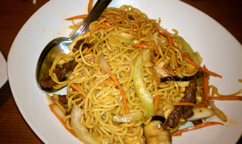 Beef And Shrimp lo Mein Beef Lo-mein