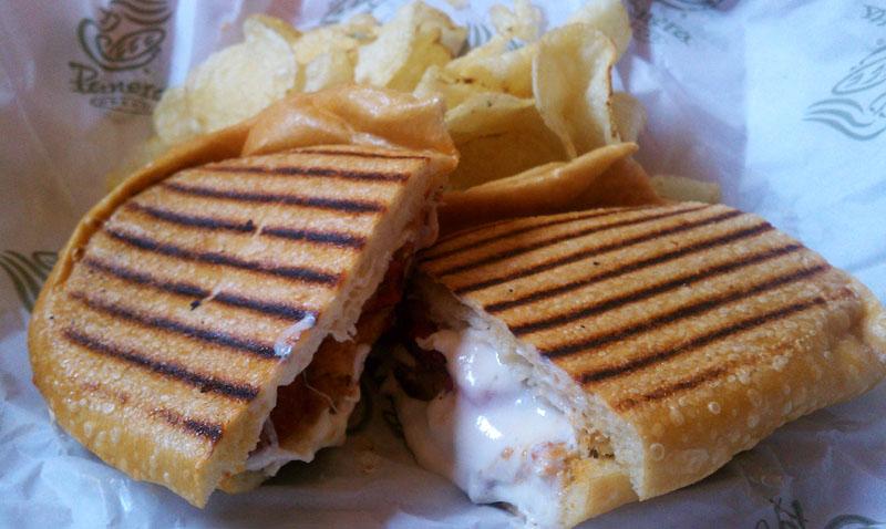 panera style panera style sandwich tomato and mozzarella panini ...