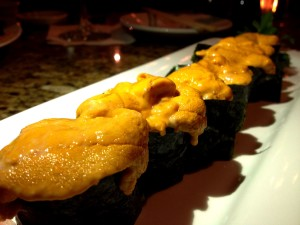 Uni Sushi at Oceans