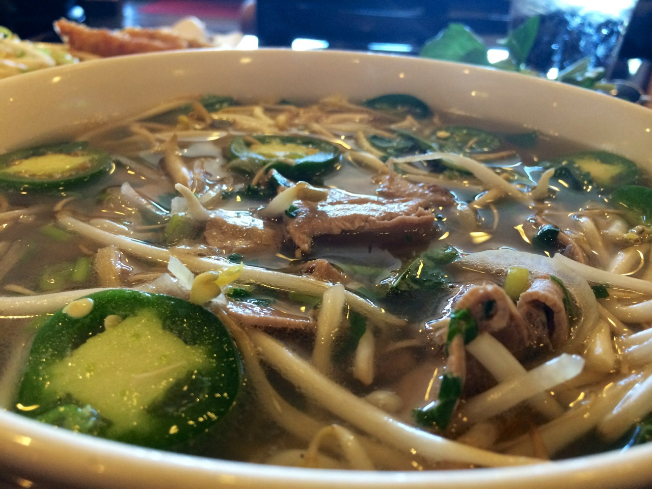 Vina pho and grill beef pho for Asian cuisine and pho